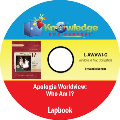 Apologia Worldview: Who Am I? Lapbook PDF CD-ROM  -     By: Candie Donner