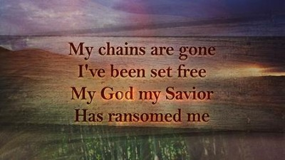 Amazing Grace/My Chains Are Gone - Lyric Video HD  [Music Download] -     By: Candi Pearson-Shelton