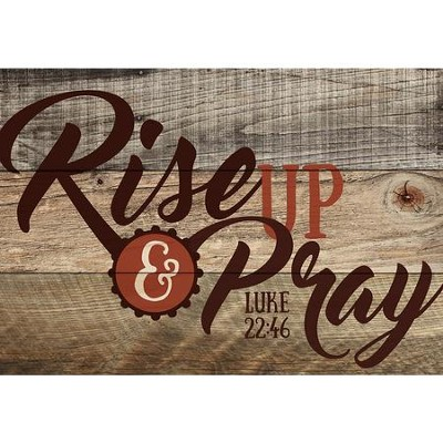 Rise Up & Pray, Mini Art, Mini  -
