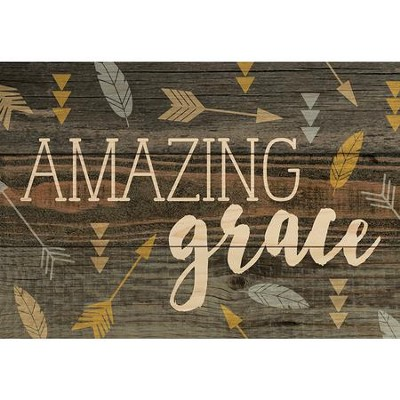 Amazing Grace, Lath Art, Mini  -