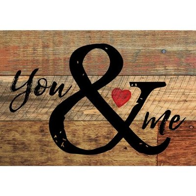 You & Me, Lath Art, Mini  -
