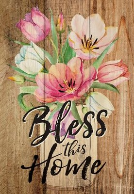 Bless This Home, Lath Art, Mini  -