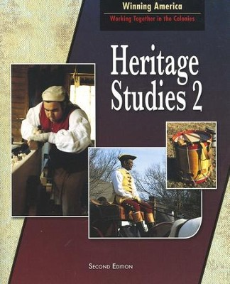BJU Heritage Studies Grade 2, Student Text (Second Edition)    -