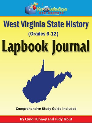 West Virginia State History Lapbook Journal (Printed Edition)  -     By: Cyndi Kinney, Judy Trout