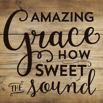 Amazing Grace How Sweet the Sound Coaster, Small  -