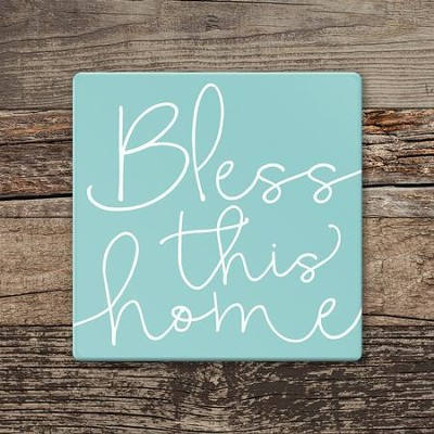 Bless This Home Coaster, Large  -