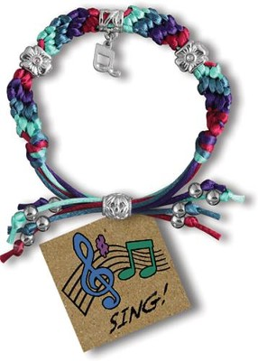 Sing, Express Yourself Cord Bracelet  -