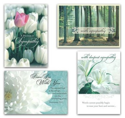 God's Promise, Sympathy Cards, Box of 12  -