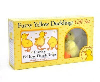 Fuzzy Yellow Duckling Gift Set   -     By: Matthew Van Fleet