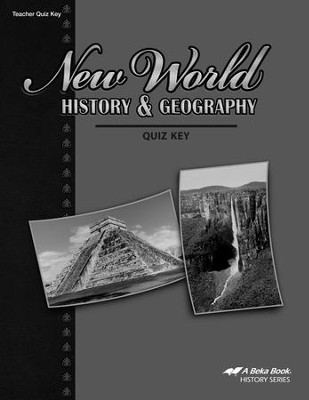 New World History & Geography Quizzes Key   -
