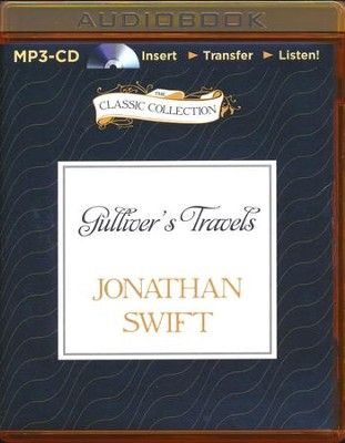 Gulliver's Travels - unabridged audiobook on MP3-CD   -     Narrated By: David Hyde Pierce     By: Jonathan Swift