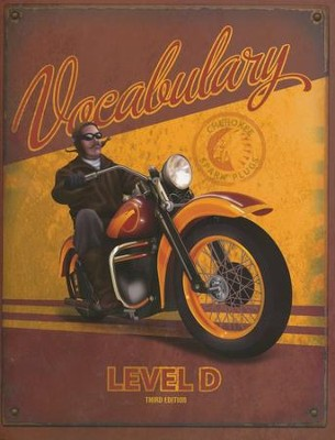 BJU Vocabulary Level D (Grade 10) Student Worktext, Third Edition    -