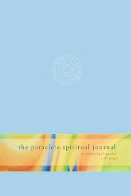 The Paraclete Spiritual Journal (Blue)   -     By: Paraclete Press