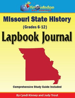 Missouri State History Lapbook Journal (Printed Edition)  -     By: Cyndi Kinney, Judy Trout