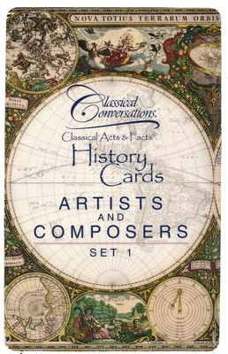Classical Acts & Facts: Artists and Composers Set 1   -