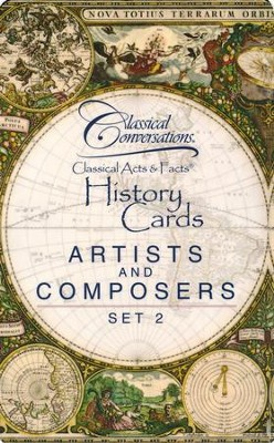 Classical Acts & Facts: Artists and Composers Set 2   -