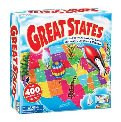 Great States! Game   -