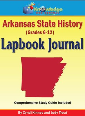 Arkansas State History Lapbook Journal (Printed)  -     By: Cyndi Kinney