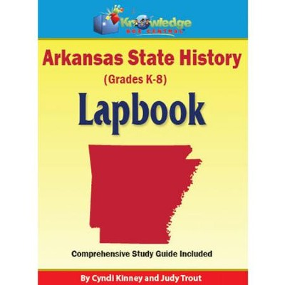 Arkansas State History Lapbook (Assembled)  -     By: Cyndi Kinney