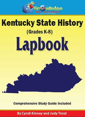 Kentucky State History Lapbook (Printed)  -     By: Cyndi Kinney