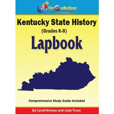 Kentucky State History Lapbook (Assembled)  -     By: Cyndi Kinney