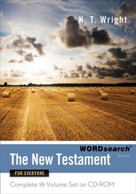 The New Testament for Everyone, WORDSearch Edition on CD-ROM  -     By: N.T. Wright
