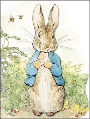 Peter Rabbit Large Shaped Board Book  -     By: Beatrix Potter