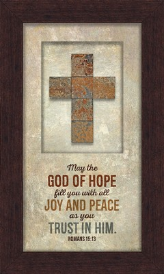 God Of Hope Framed Art  -