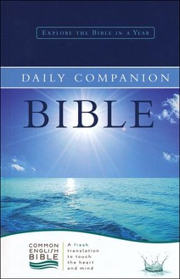 CEB Common English Daily Companion Bible - Hardcover  -