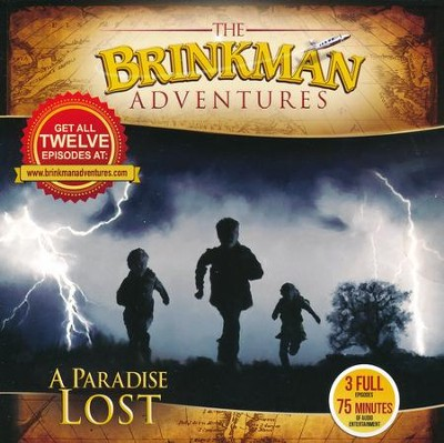The Brinkman Adventures Season 4 Sampler: A Paradise Lost (3  Episodes on 1 Audio CD)  -