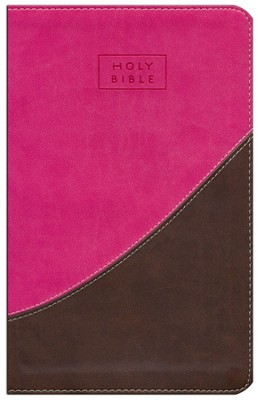 CEB Common English New Testament with Psalms Limited Edition - DecoTone (Pink/Chocolate Brown)  -