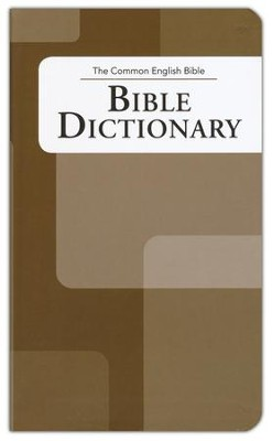 CEB Bible Dictionary   -
