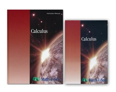 Math-U-See Calculus Instruction Pack   -