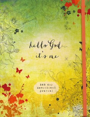 Hello God...It's Me: A 365-Day Devotional Journal   -