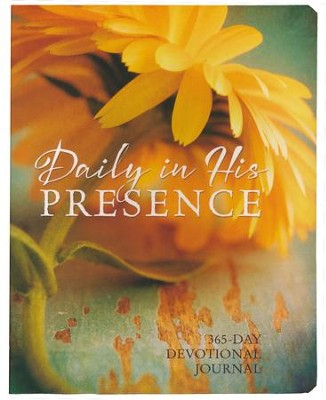 Daily In His Presence: 365-Day Devotional Journal  -