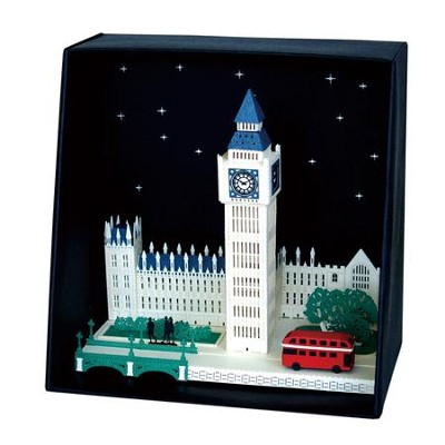 Paper Nano Japanese Papercraft, Big Ben  -