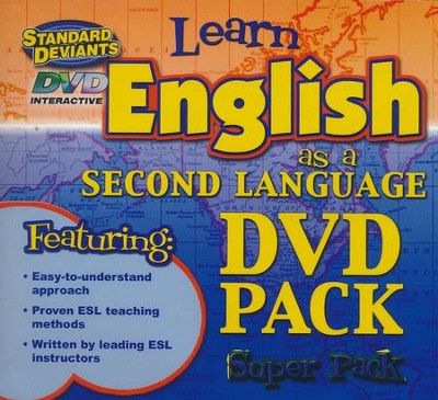 English as a Second Language (ESL) DVD 4 Pack   -