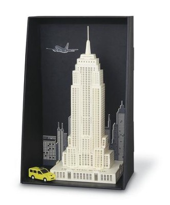 Paper Nano Japanese Papercraft, Empire State Building  -