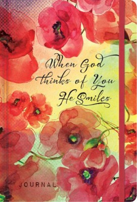 When God Thinks of You He Smiles Compact Journal  -