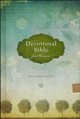 KJV Devotional Bible for Women, trees  -