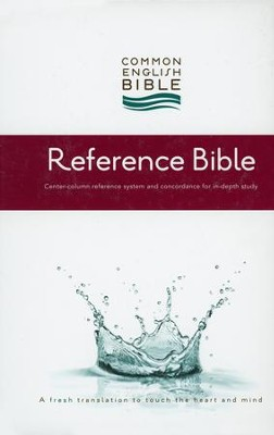 CEB Reference Bible, Hardcover  -