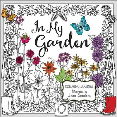 In My Garden Coloring Journal  -