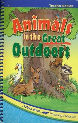 Animals in the Great Outdoors Teacher Edition   -