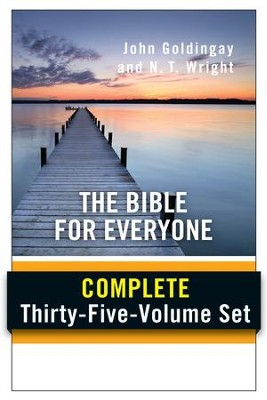 The Bible for Everyone: Complete 35-Volume Set   -     By: N.T. Wright, John Goldingay