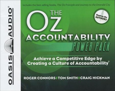 Oz Accountability Power Pack          - Audiobook on CD     -     By: Roger Conners