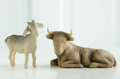 Willow Tree &#174 Nativity, Ox and Goat  -     By: Susan Lordi