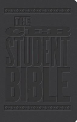 The CEB Student Bible, DecoTone Black  -