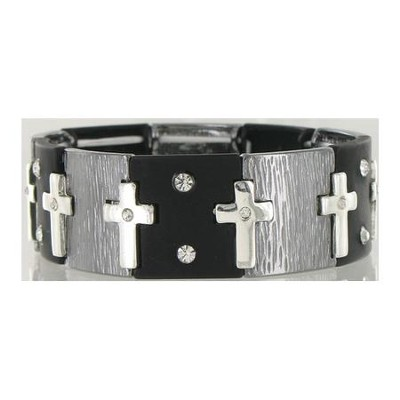 Tranquility, Cross Stretch Bracelet  -