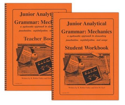 Junior Analytical Grammar: Mechanics Set   -     By: R. Robin Finley