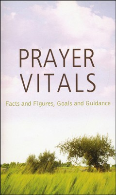 Prayer Vitals: Facts and Figures, Goals and Guidance  -     By: Tracy Sumner